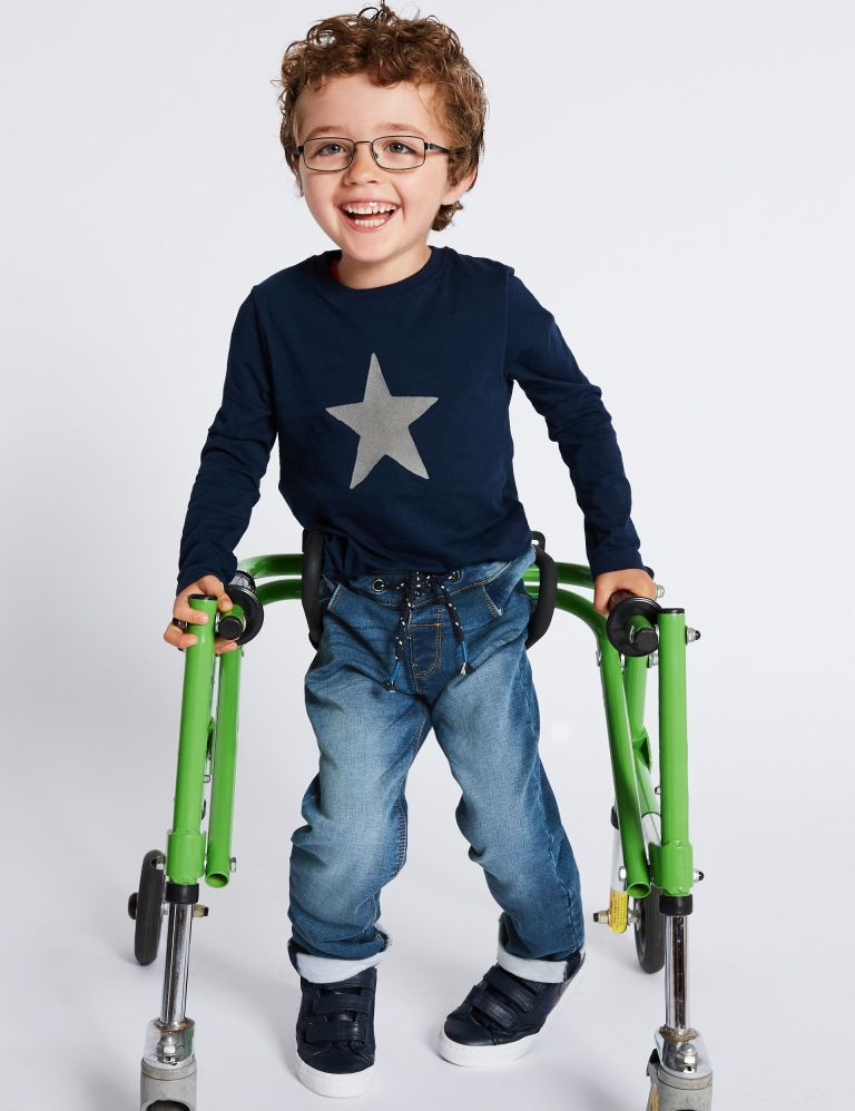 Marks and spencers advert featuring boy with disabilities for the easy dressing range