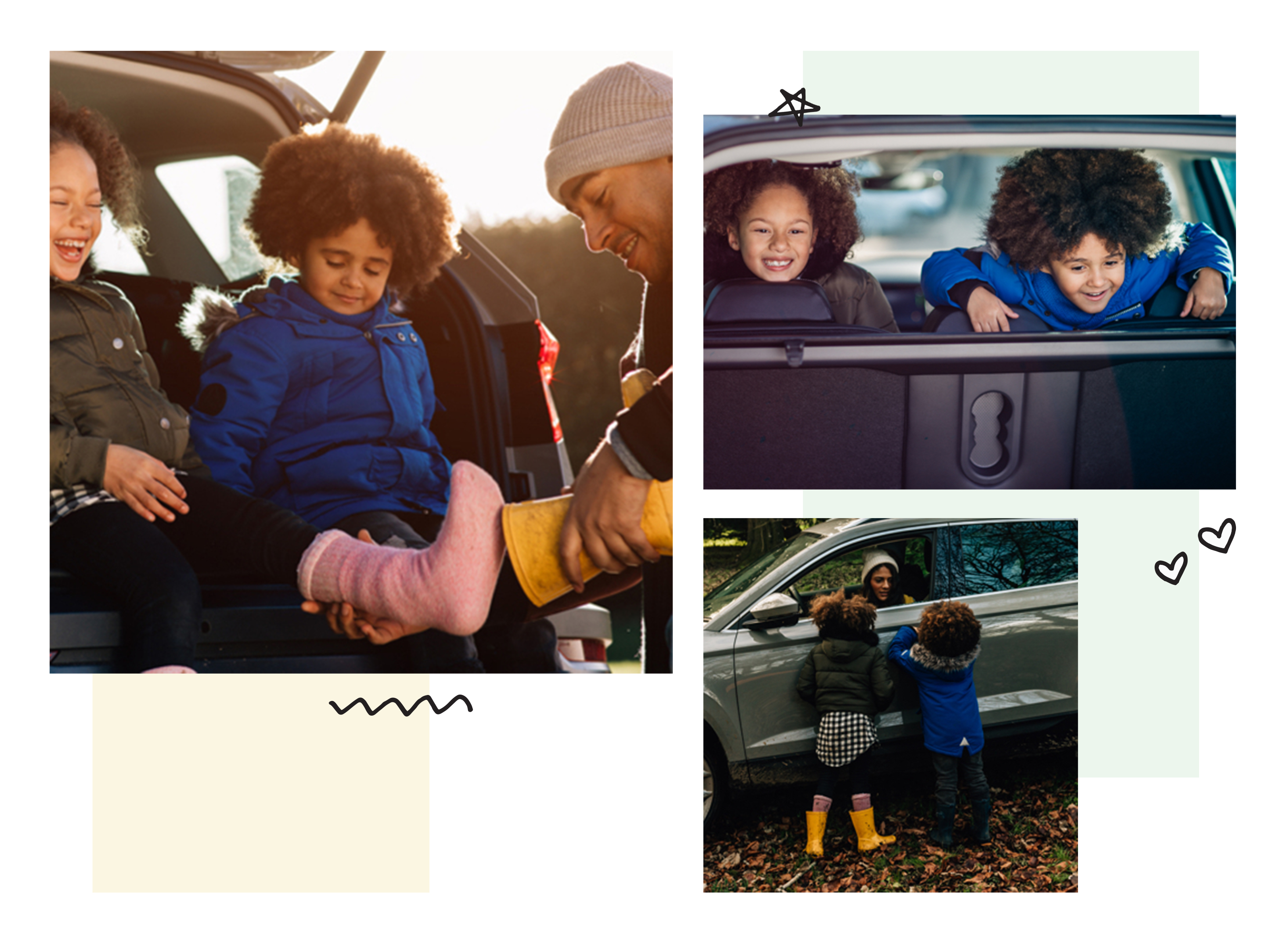 Skoda shoot with the Wilson Family and Zarian Marcel
