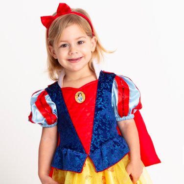 Amelia Eva Mai from Sandra Reynolds Juniors dressed up as Snow White for World Book Day with TU Clothing