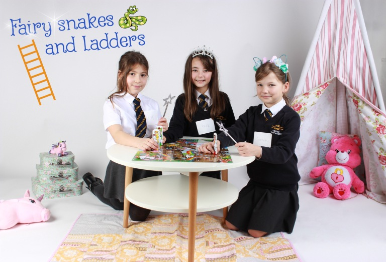ICanBe Charity day at Sandra Reynolds Model agency, pretend production shoot for Orchard Toys